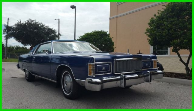 1977 Mercury Grand Marquis MARQUIS BROUGHAM COUPE NO RESERVE!!