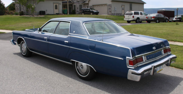 1977 Mercury Marquis Brougham With 19 462 Documented Miles