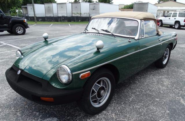 1977 Mg Mgb Convertible