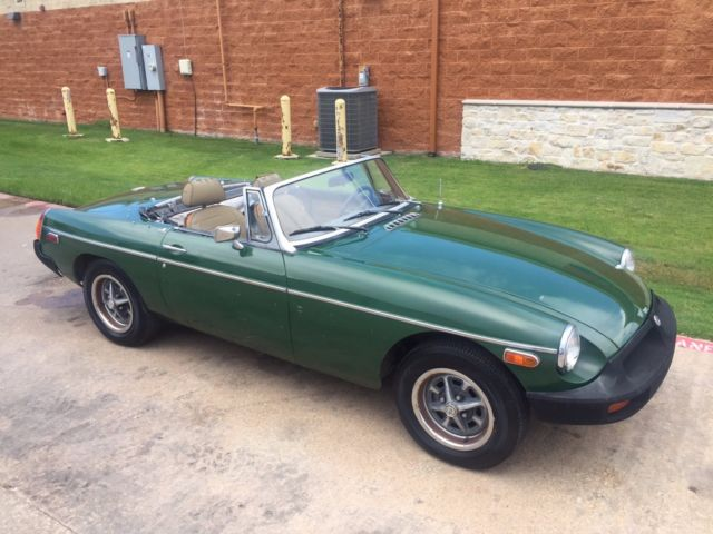 1977 MG MGB Tan