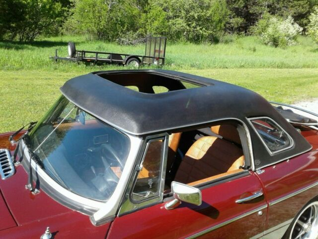 1977 Mgb With Convertible Top Tonneau Cover And Sunroof Hardtop For Sale Photos Technical Specifications Description