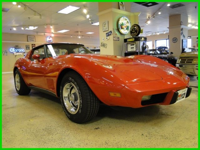 1977 Chevrolet Corvette Numbers Matching