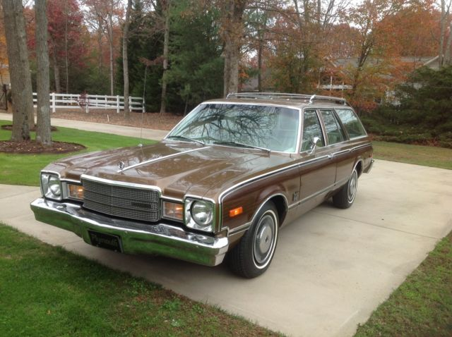 1977 Plymouth Other Premier Wagon 4-Door