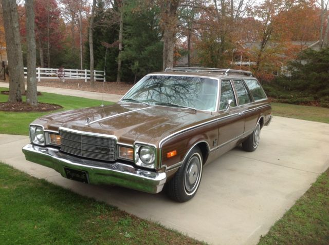 1977 Plymouth Volare Premier Woody Wagon