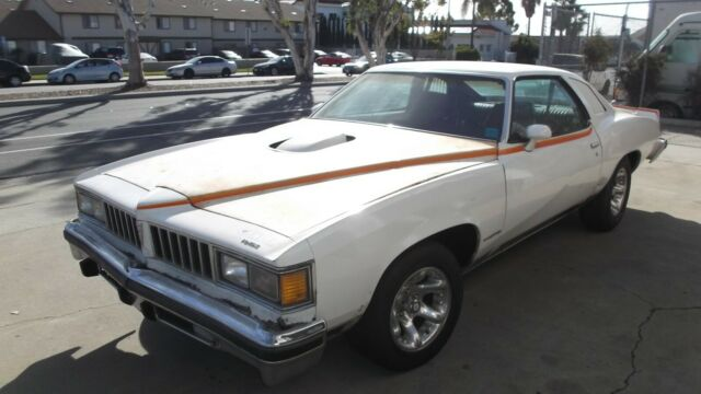 1977 Pontiac Can Am PONTIAC LEMANS SPORT COUPE Can Am