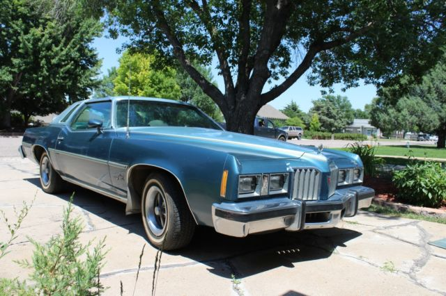 1977 Pontiac Grand Prix LJ T-Tops 81,000 Original Miles