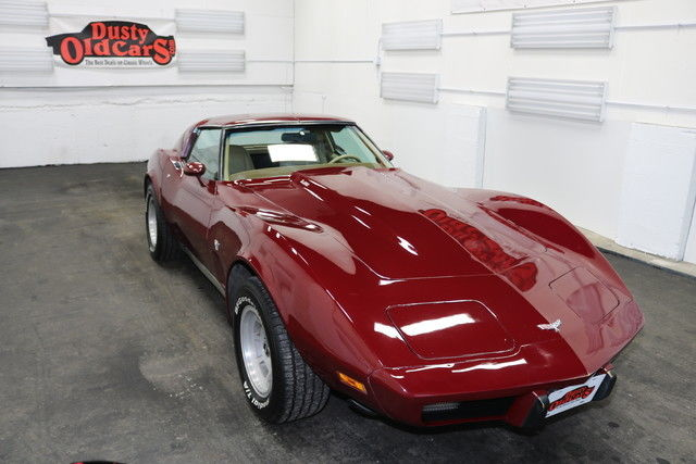 1977 Chevrolet Corvette Runs Drive Body Int Vgood 383 Stroker V8 4 spd man
