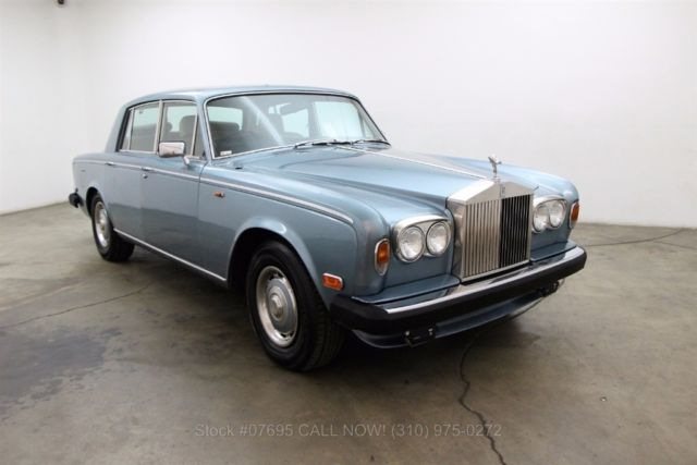 1977 Rolls-Royce Silver Shadow Right Hand Drive