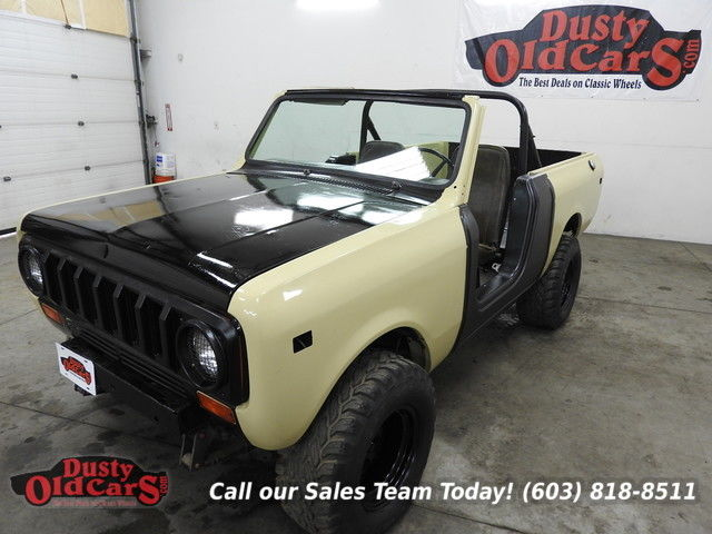 1977 International Harvester Scout All Orig 1 Owner, Needs to be Completed