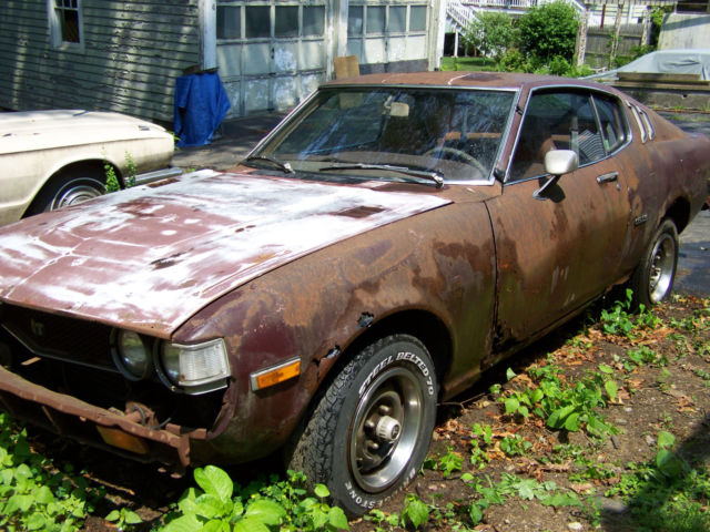 1977 Toyota Celica For Sale: 1977 Toyota Celica GT Liftback 5SP FOR PARTS OR