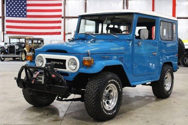 1977 Toyota Land Cruiser FJ-40 78394 Miles Blue SUV 6