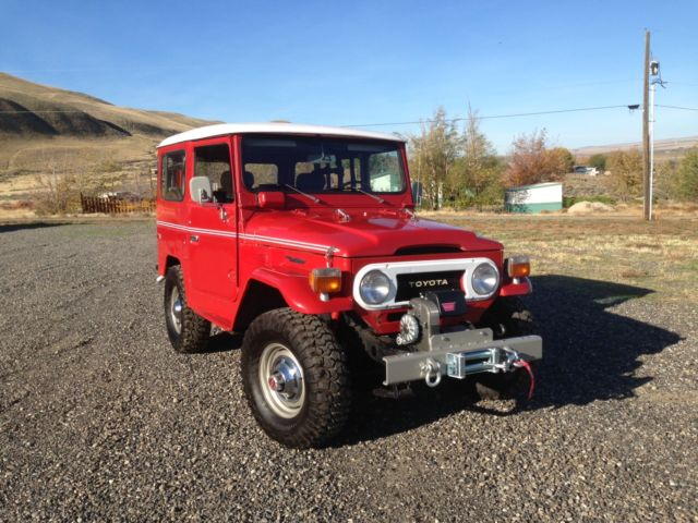 1977 Toyota Land Cruiser LandCruiser