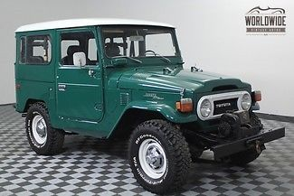 1977 Toyota Land Cruiser Winch. PS. Restored. The one you want!