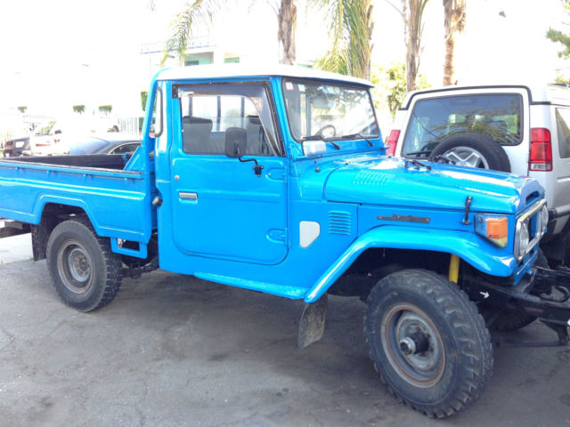 1977 toyota landcruiser fj45 diesel 4x4 all original for. Black Bedroom Furniture Sets. Home Design Ideas