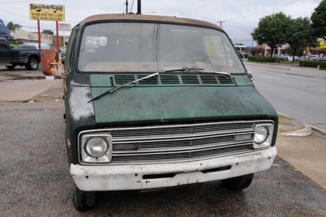 1977 Van Dodge Shorty B100 Barn Find for sale: photos