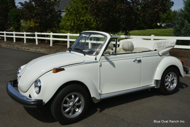 1977 Volkswagen Beetle - Classic Triple White
