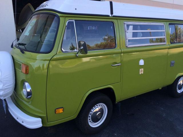 1977 Volkswagen Westfalia Vw Camper Van Bus For Sale