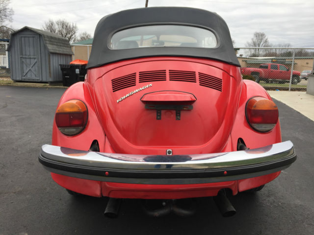 1977 vw super beetle convertible for sale photos technical specifications description. Black Bedroom Furniture Sets. Home Design Ideas