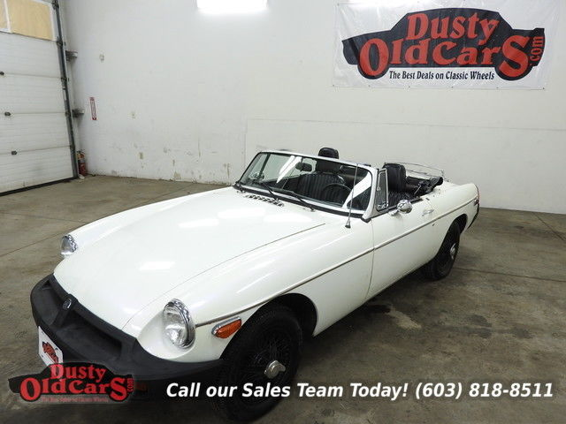 1977 MG MGB Runs Drives Body Inter VGood 1.8L 4 Speed