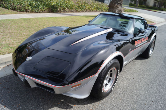 1978 Chevrolet Corvette INDY PACE CAR EDITION WITH 20K ORIGINAL MILES