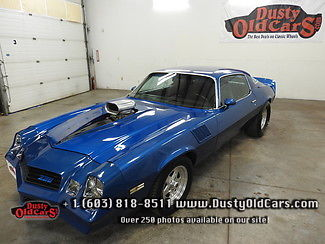 1978 Chevrolet Camaro Runs Drives Excel 468V8 Bars Body Inter Nice