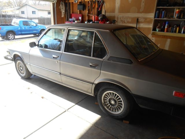 1978 BMW 5-Series Base Sedan 4-Door
