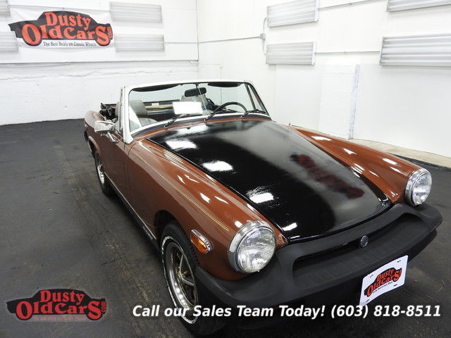 1978 MG Midget Runs Drives Body Inter Good 1.5L 4 spd manual