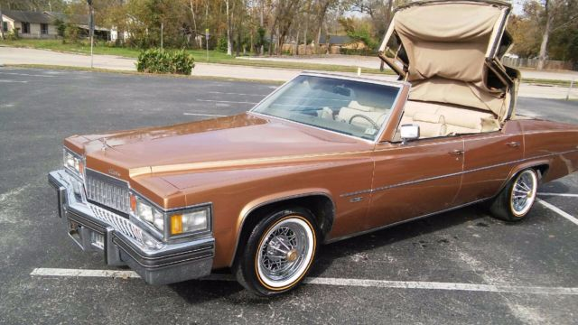 1978 Cadillac Deville Parris for sale: photos, technical ...