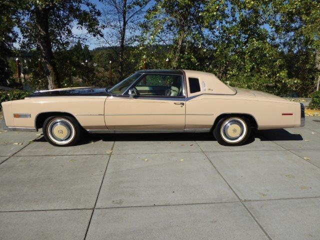 1978 Cadillac Eldorado Custom Biarritz Classic number 37 of 2000 Built
