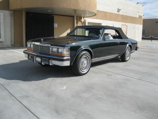1978 Cadillac Seville San Remo Convertible For Sale Photos