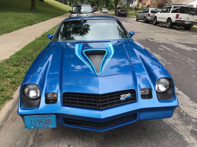 1978 Camaro Z28 Original Owner. 100% Original Car 38,825
