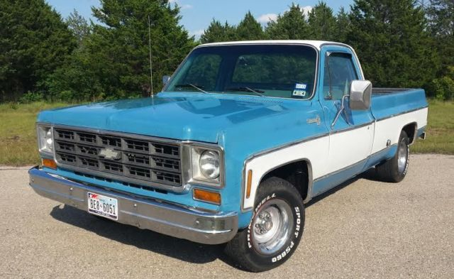 1978 Chevrolet C10 Lwb Factory 454 Big Block V8 Texas Truck Low