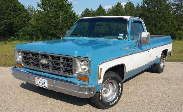 1978 Chevrolet C10 LWB factory 454 big block V8 Texas ...