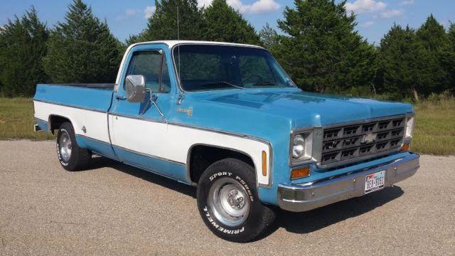 How Long Does A Rebuilt Transmission Last >> 1978 Chevrolet C10 LWB factory 454 big block V8 Texas ...