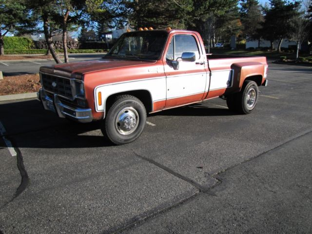 1978 Chevrolet C/K Pickup 3500 scottsdale
