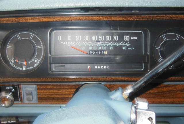 1978 Chevrolet Caprice Classic Estate Wagon 4 Door 5 7l