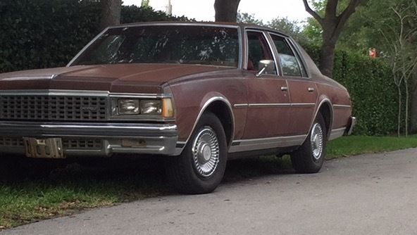 1978 Chevrolet Caprice Classic w/V8-AC-No Rust     New Tires Nice