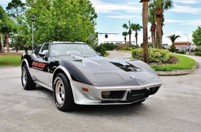 1978 Chevrolet Corvette 25th Anniversary Pace Car Only 3K Miles