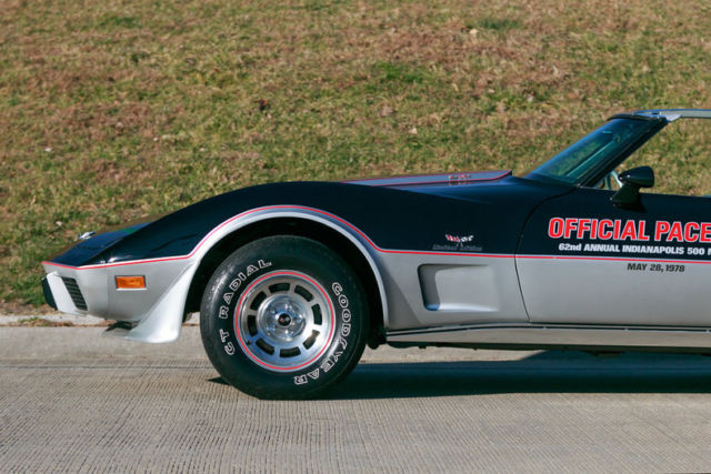 1978 chevrolet corvette pace car 1 730 original miles for sale photos technical specifications. Black Bedroom Furniture Sets. Home Design Ideas