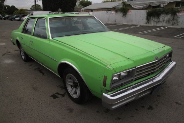1978 Chevrolet Impala Automatic 8 Cylinder No Reserve For
