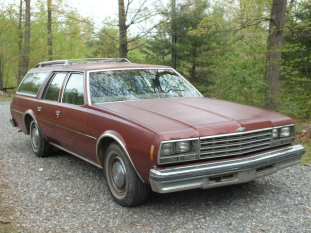1978 chevrolet impala station wagon rear facing back seat ready to go for sale photos. Black Bedroom Furniture Sets. Home Design Ideas