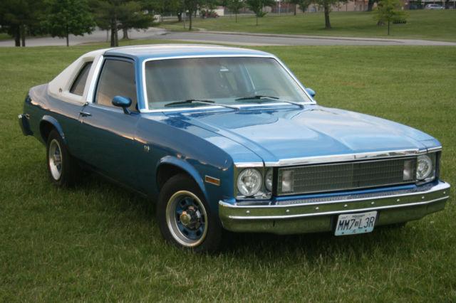 1978 Chevrolet Nova Custom Coupe 2 Door 5 0l Original
