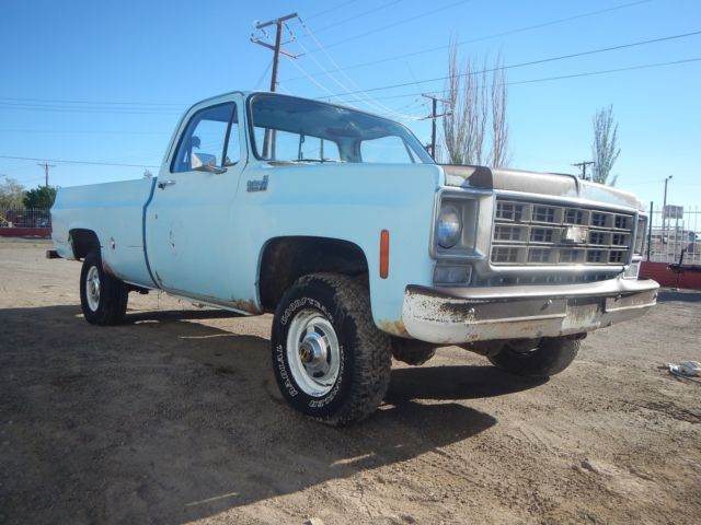 1978 Chevrolet C/K Pickup 1500 CUSTOM DELUXE 10