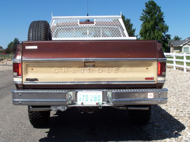 Chevy Ton Gmc K X Truck Rust Free Owner All Original