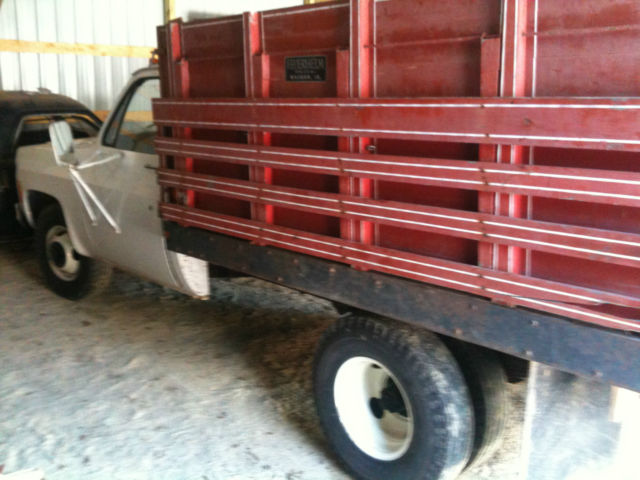 1978 Chevy 35 Sierra 1 Ton Dually Flatbed With Combination
