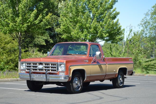 1978 Chevy Silverado Single Cab Big 10 2wd 454 V8 Only 99k Miles