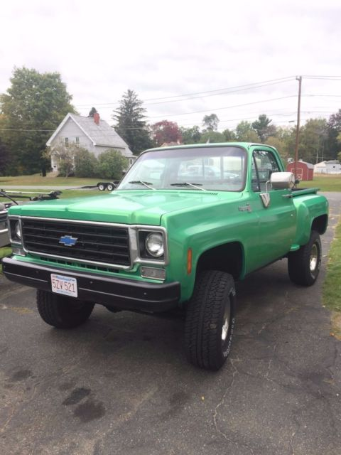 1978 Chevrolet C/K Pickup 1500 none