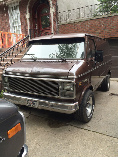 1978 Chevy Van Shorty Rare Bonanza Model Gmc G10 G20