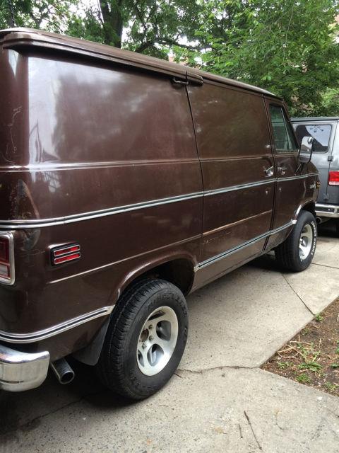 1978 Chevy VAN - SHORTY - Rare BONANZA Model - GMC G10 G20 for sale