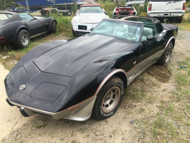 1978 corvette pace car 4 speed rare 42k original miles cheap look wow for sale photos. Black Bedroom Furniture Sets. Home Design Ideas